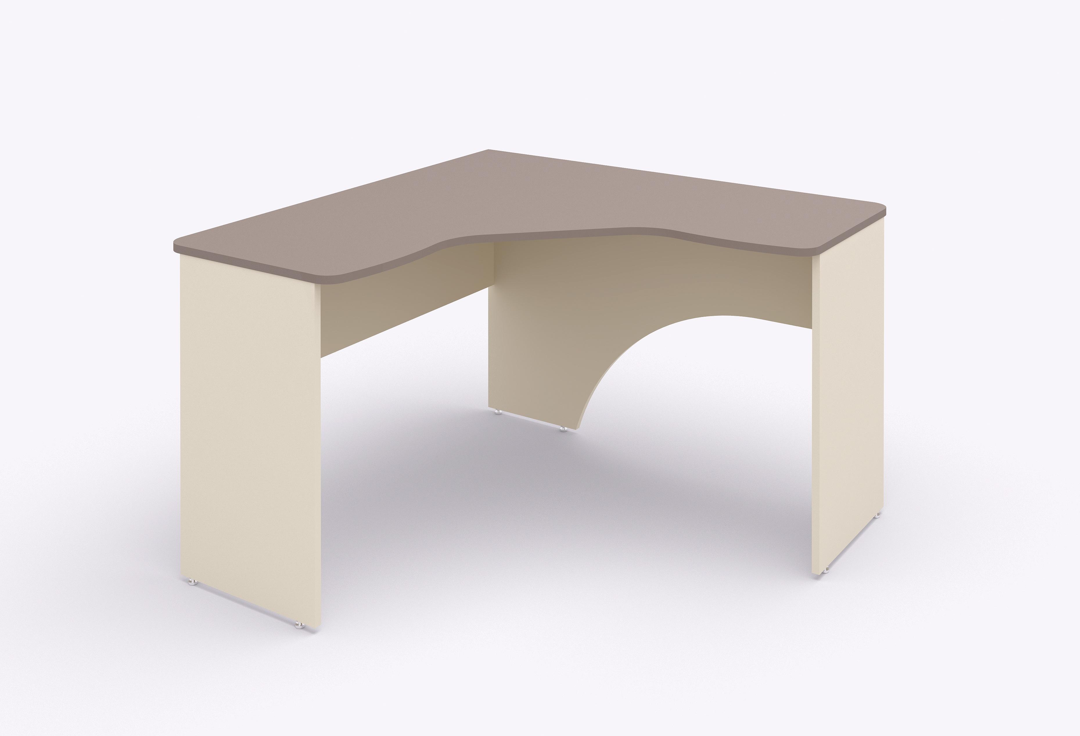 Rohový psací stůl Lenza Siluet