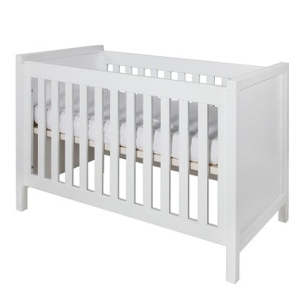 Dětská postýlka Europe Baby Atlantic 70 x 140 cm přestavitelná