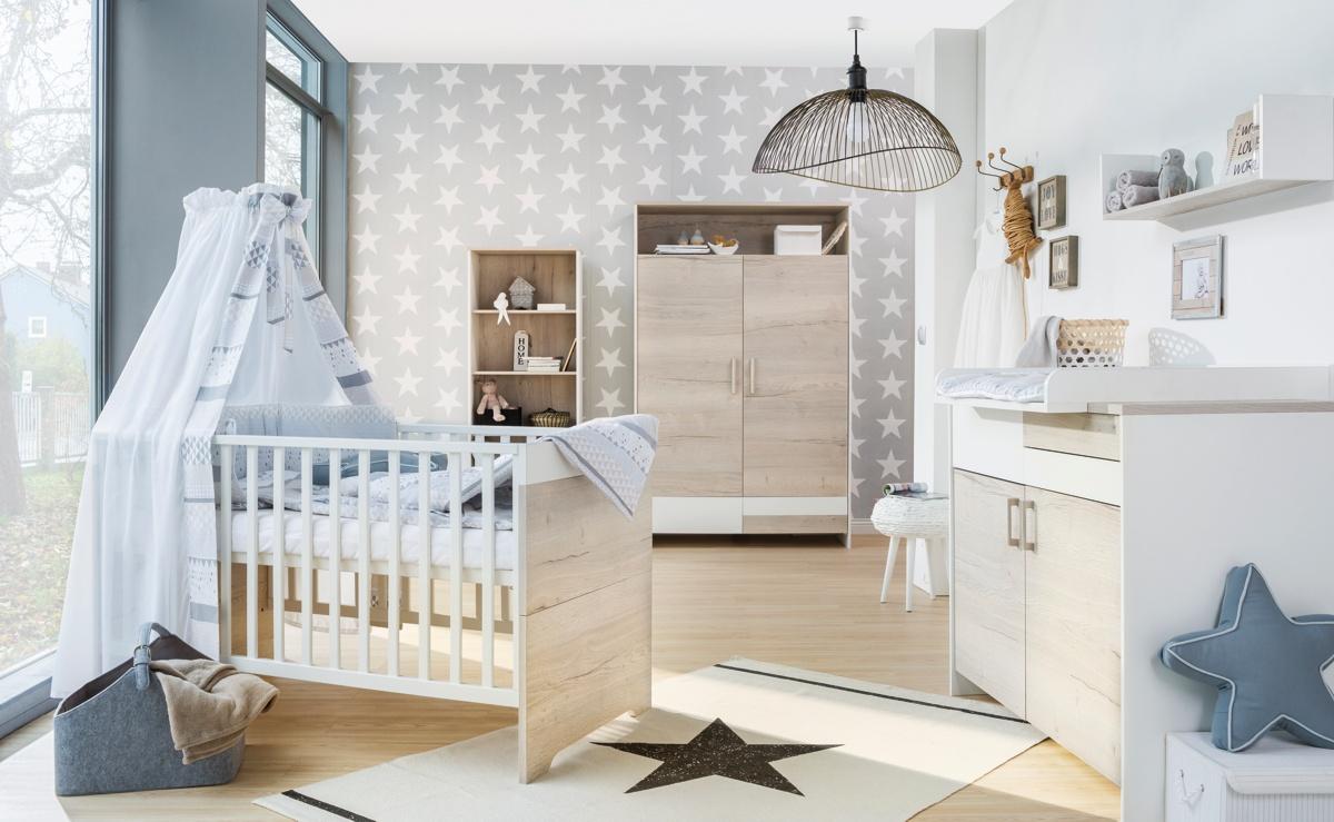 Dětský pokoj Schardt CLOU OAK s 2-dílnou skříní