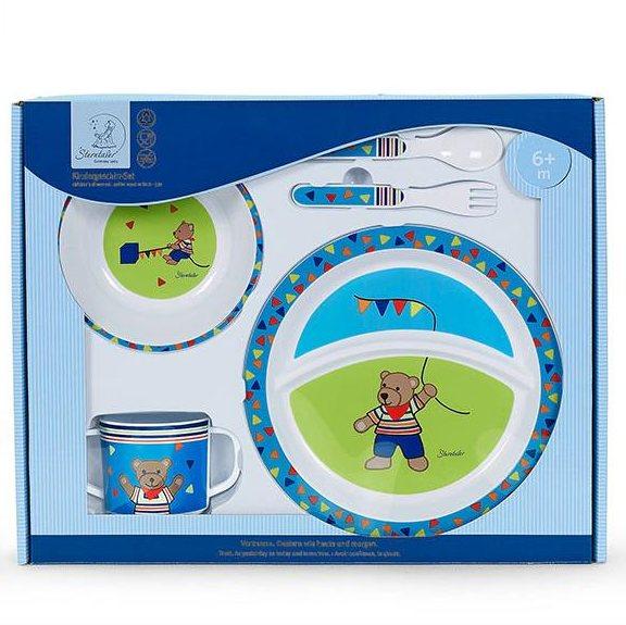 Dětský set nádobí Sterntaler medvídek BEN