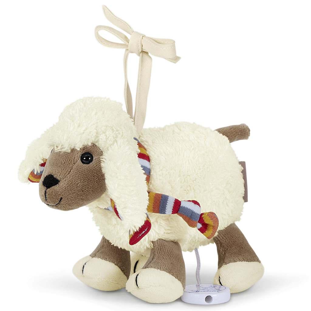 Hračka s hracím strojkem mini Sterntaler ovečka STANLEY