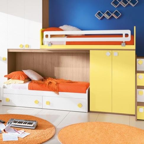 Patrové postele a palandy | Palanda Colombini ERESEM C39 | Kvalitní ...