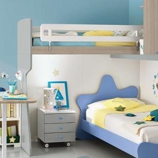 Patrová postel Colombini ERESEM C140
