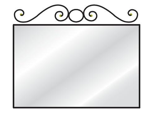 Zrcadlo na zeď Colombini ARCADIA ANTHONY