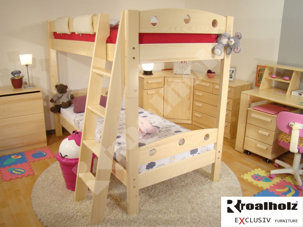 Rozkládací palanda / patrová postel Roalholz Fija P