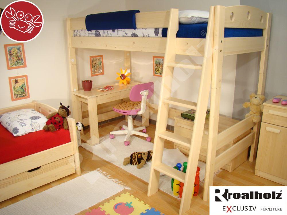 Rozkládací palanda / patrová postel Roalholz Fija V