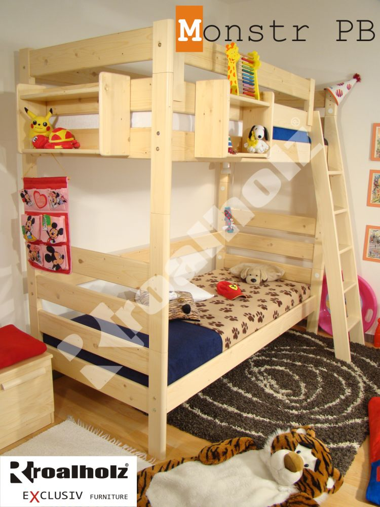 Rozkládací palanda / patrová postel Roalholz Monstr PB