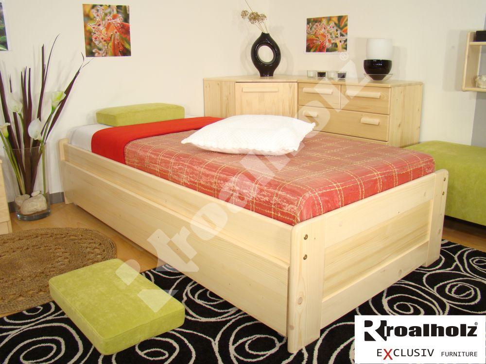 Rozkládací postel Roalholz Duo NR+NR