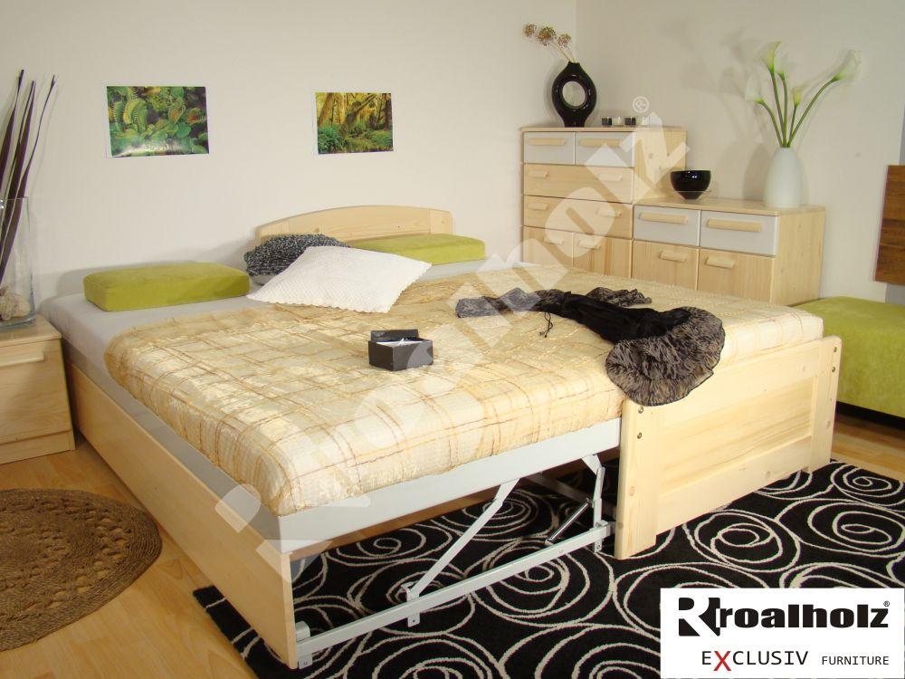 Rozkládací postel Roalholz Duo VO+NR