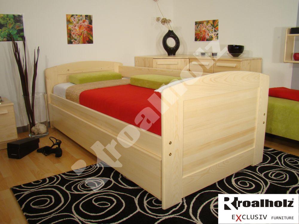 Rozkládací postel Roalholz Duo VO+VO