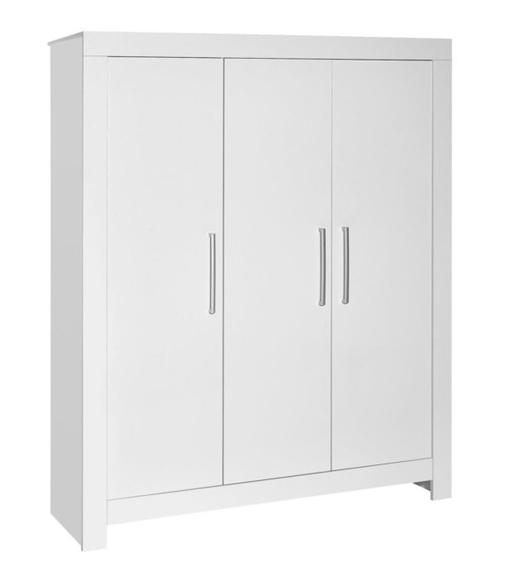 Šatní skříň 3-dílná Schardt NORDIC WHITE