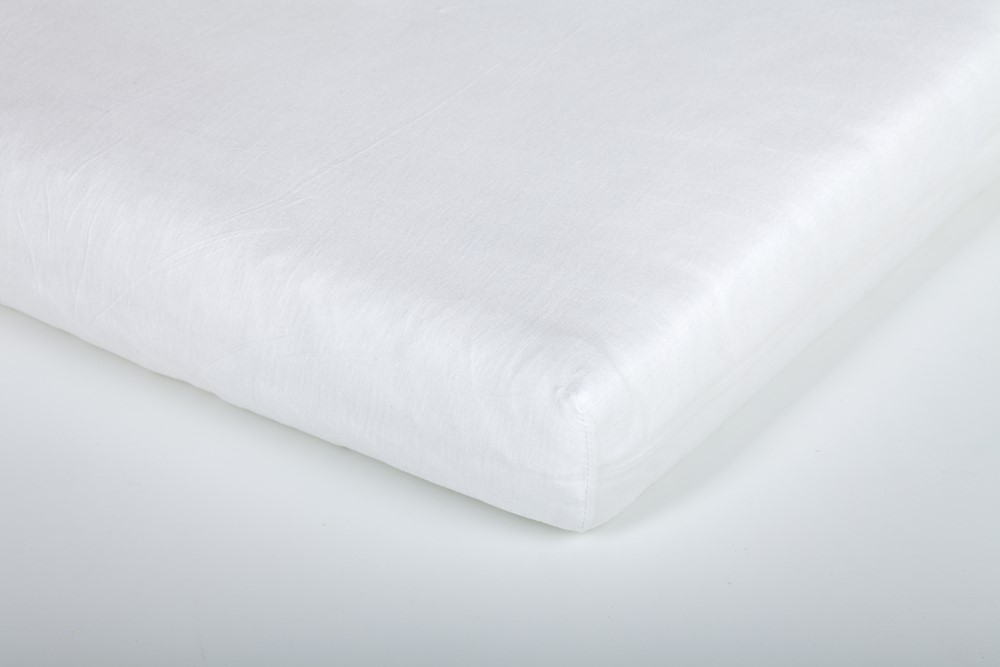 TRÄUMELAND prostěradlo do junior postele bavlna 90x200 weiss
