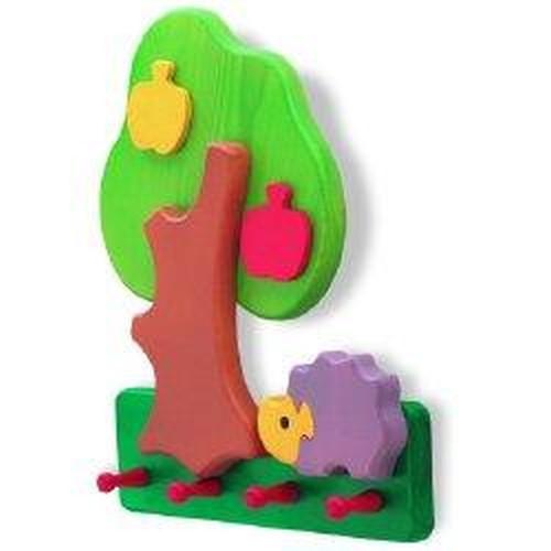 Věšák na zeď Siro Strom s ježkem