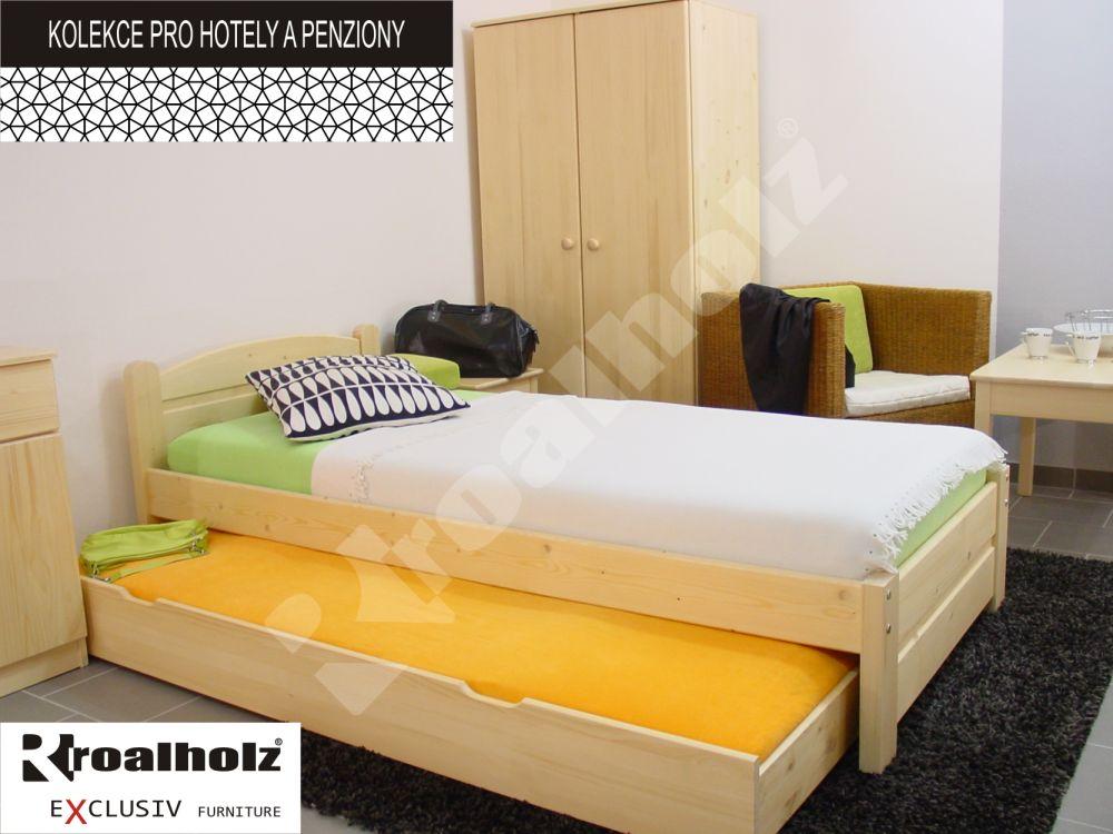 Přistýlka k postelím Roalholz 80 x 200 cm