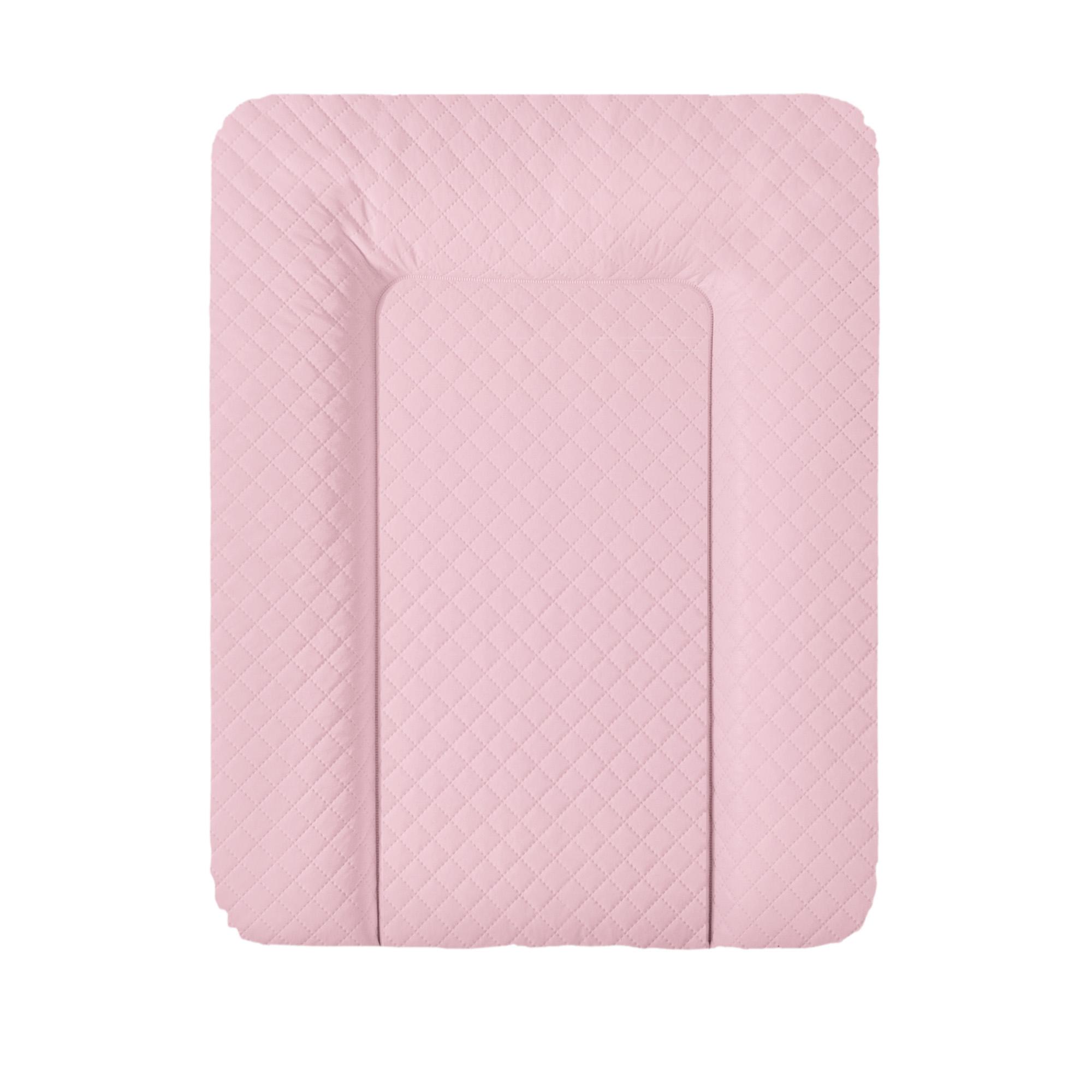 Přebalovací podložka CEBA na komodu 50x70 cm Caro růžová