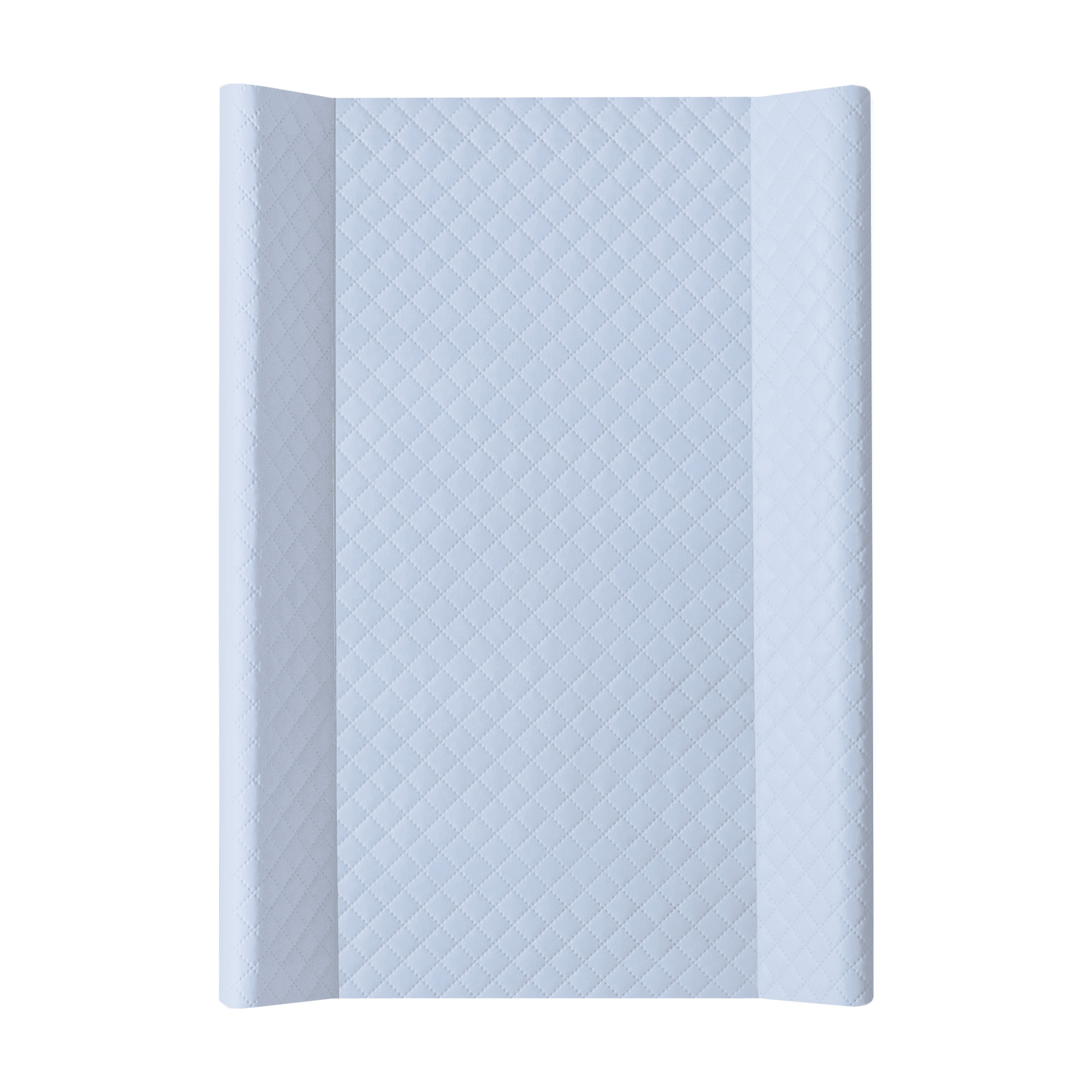 Přebalovací podložka CEBA MDF 70 cm Caro modrá