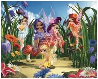 Obrazová tapeta Vavex Disney Fairies