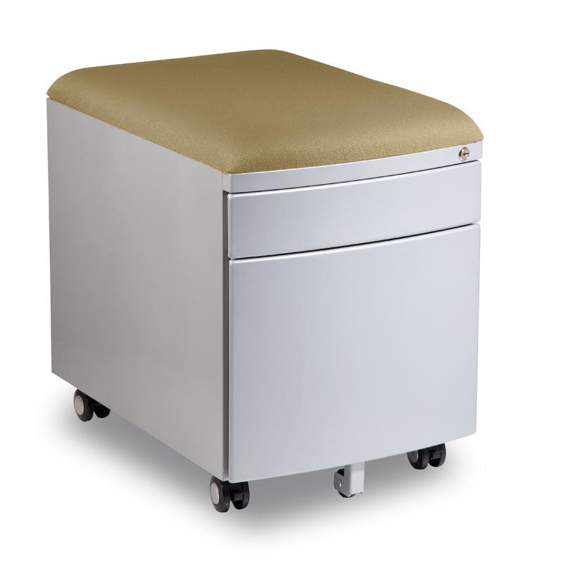 Kontejner k psacímu stolu Mayer PROFI3 béžový čalouněný