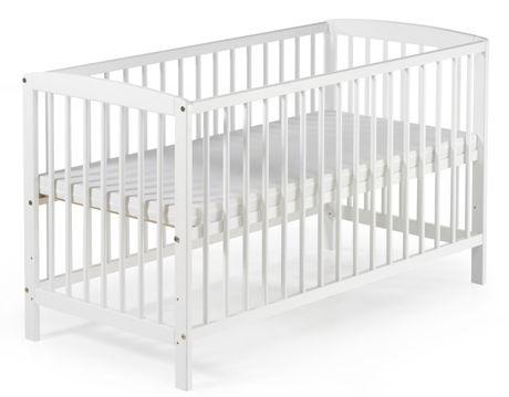 Dětská postýlka Schardt FELIX 60 x 120 cm bílá