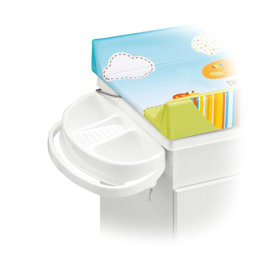 Pali Držák mýdla a ručníku pro přebalovací pult