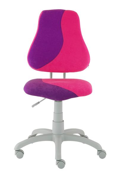 Dětská rostoucí židle ALBA FUXO S-line růžovo-fialová