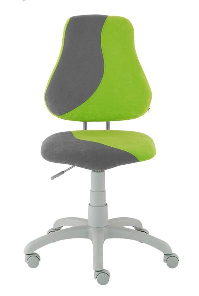 Dětská rostoucí židle ALBA FUXO S-line ostře zeleno-šedá