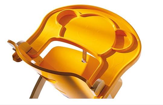 Přídavný plastový pult k židličkám Pali dýňový
