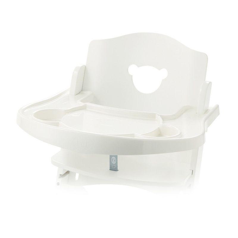 Přídavný plastový pult k židličkám Pali bílý