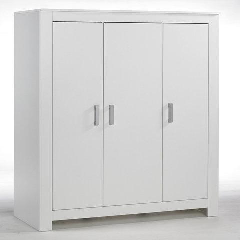 Šatní skříň třídílná Geuther MARLENE bílá
