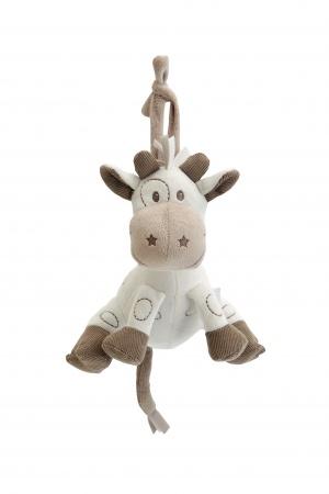 Plyšová hrající hračka Tiamo žirafka