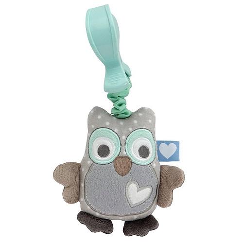 Vibrující plyšová hračka Tiamo sovička