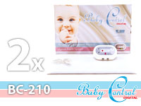 Monitor dechu Baby Control Digital se dvěmi senzorovými podložkami