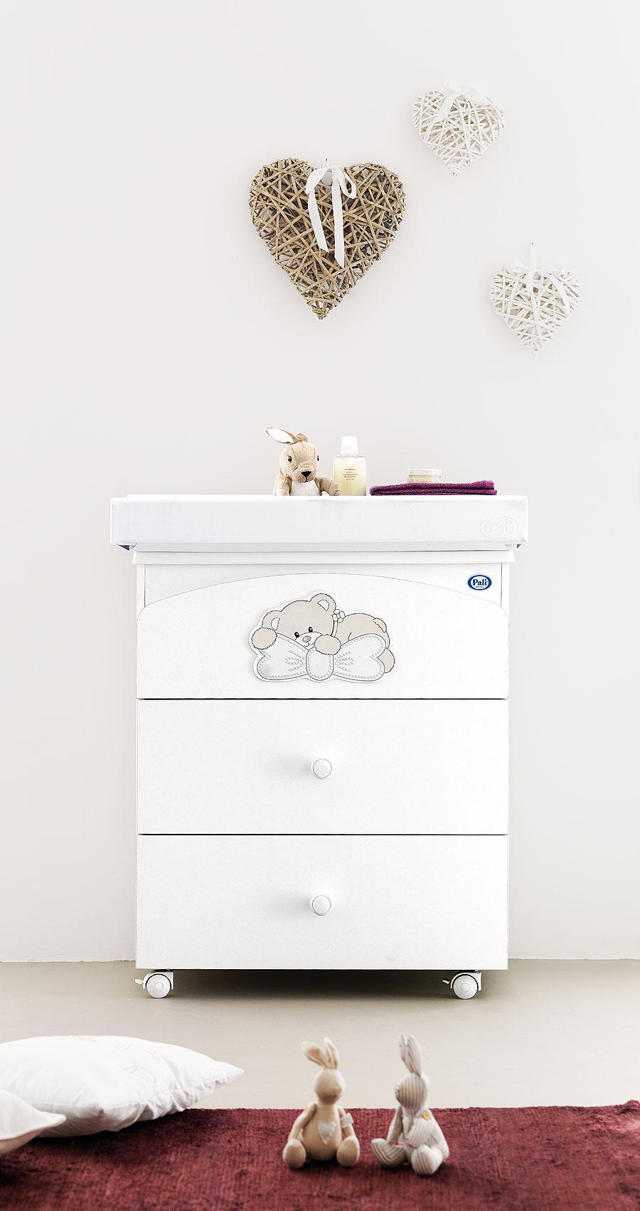 Přebalovací pult - 3 zásuvky Pali LITTLE BABY