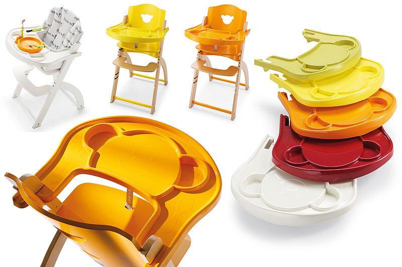 Přídavný plastový pult k židličkám Pali BLACK CHERRY