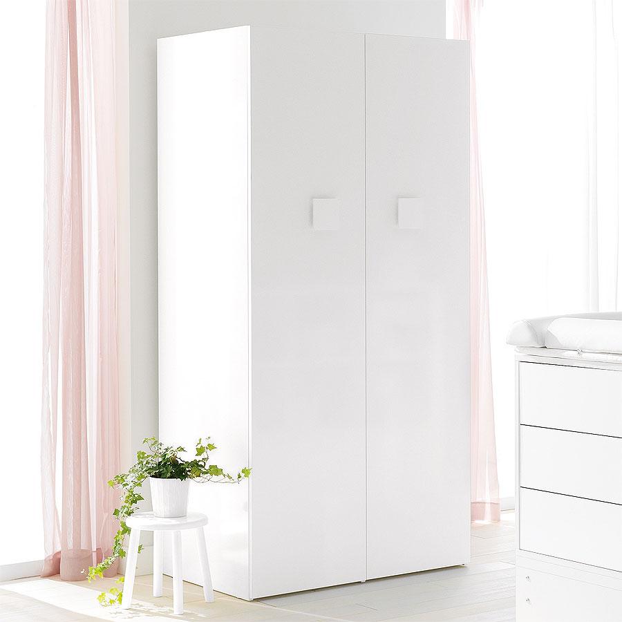 Šatní skříň - 2 dveře Pali VOYAGER White