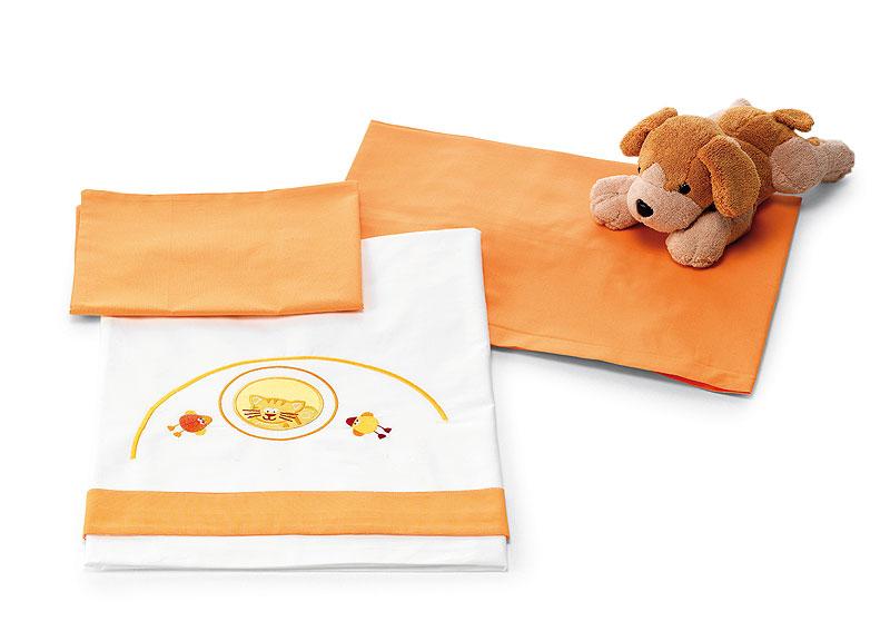 Povlečení - 3 díly Pali ZENZERO Orange