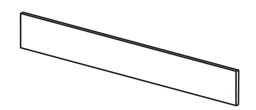 Krycí panel pod postel Trama COMBI ROMANTICA White