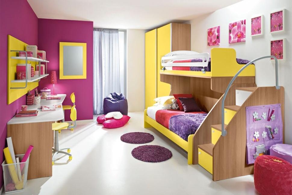 Kvalitn d tsk a studentsk n bytek smol ek - Habitaciones infantiles dobles ...